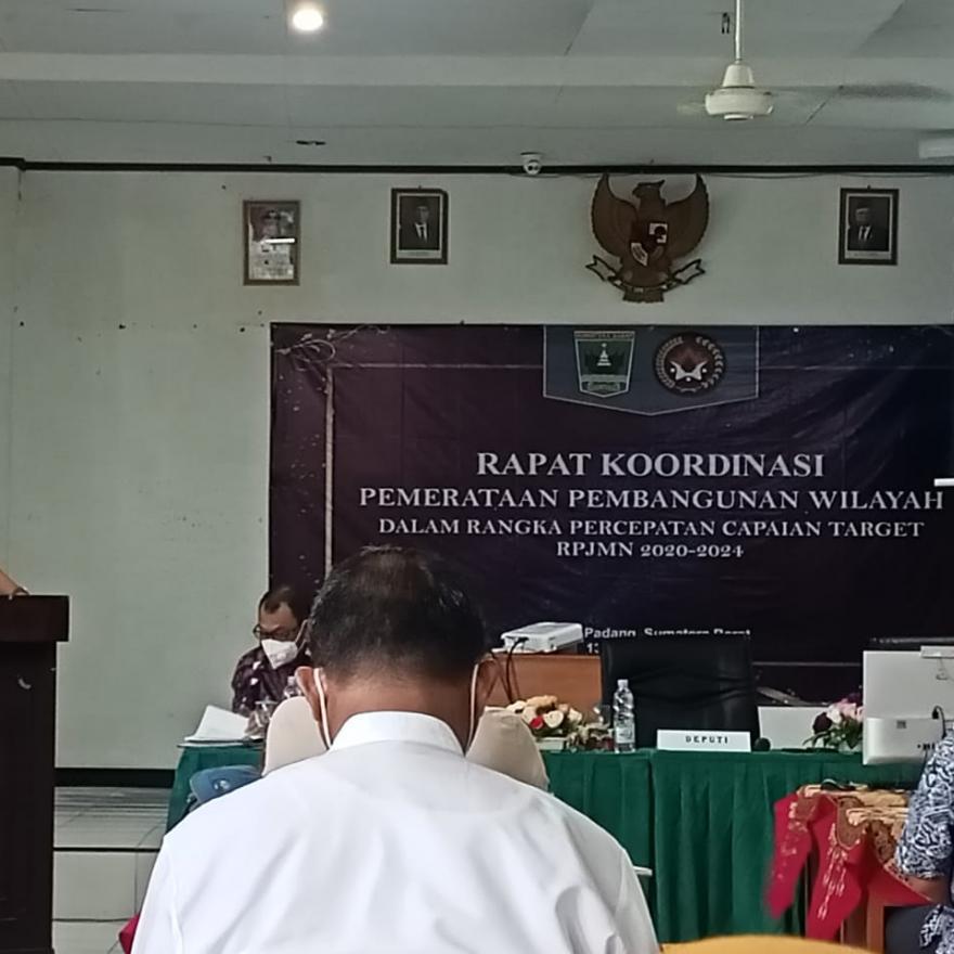 Akhiri Kunjungan Kerja ke Sumatera Barat, Kemenko PMK-RI adakan Rapat Koordinasi.