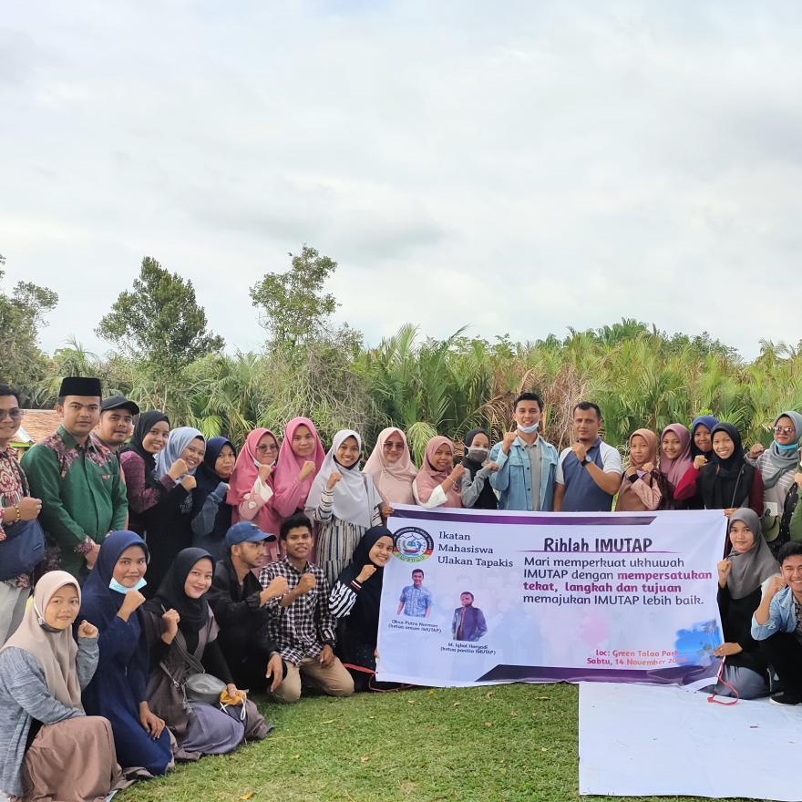 Ekowisata dan Edukasi Green Talao Park menjadi lokasi Favorit ikatan Mahasiswa membuat kegiatan