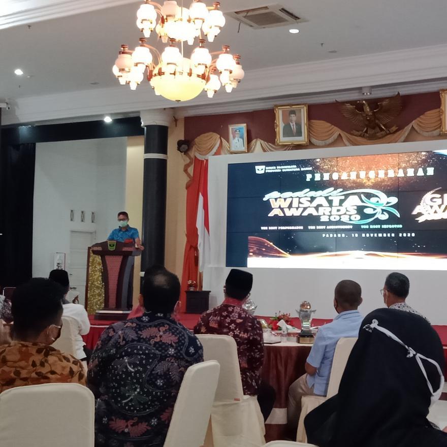 Umumkan hasil penganugerahan Peduli Wisata Award dan GIPI Award, Pokdarwis Nagari Ulakan Terbaik 3