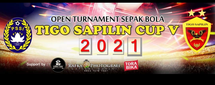 Gempar fc Juara Turnamen PS Tigo Sapilin Cup V tahun 2021 setelah mengalahkan tim tetangga di Final